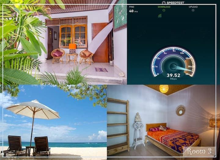 Near Best Bali beach!Fast Wi-Fi.Airport in 20min#3