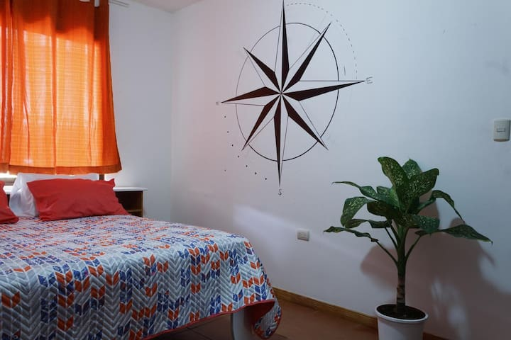 Nomad House: Comfy Room w/ Shared Bathroom and AC