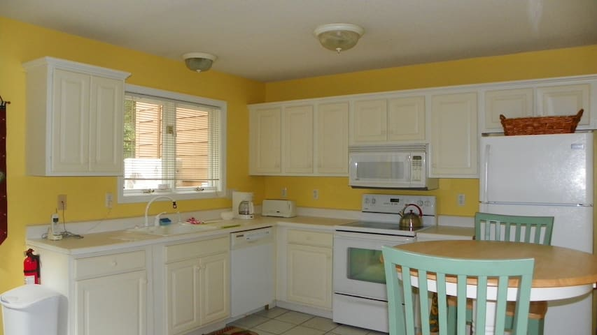 Fully Equipped Kitchen at Deer Park Vacation Rental