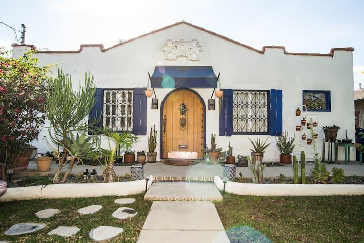 Los Feliz Mid-Century Spanish Garden Oasis