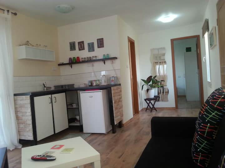 """""""Ohel Lanof"""" Holiday apartment with a large garden"""