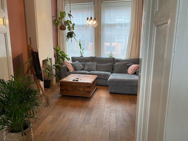 Appartement met tuin nabij het centrum