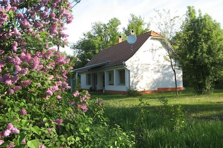 Stille und Erholung in der Puszta - Kaskantyú - Gästehaus
