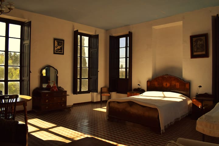 Dreamy valencian room in old renovated mill