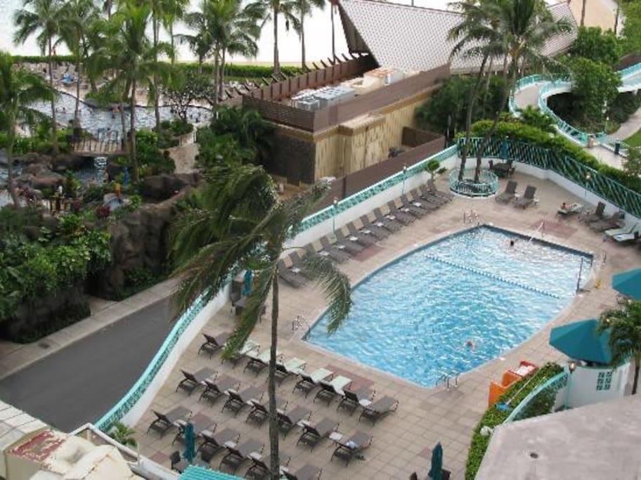 Waikiki Beach New Years Hotel Parties