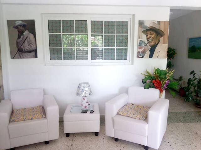 Apartment with one bedroom in Santiago de Cuba, with furnished terrace and WiFi - 16 km from the beach
