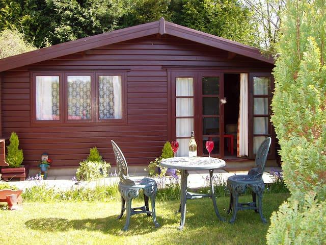 Pine lodge - Llantrisant - 12 miles from Cardiff - Rhondda Cynon Taff - Cabaña