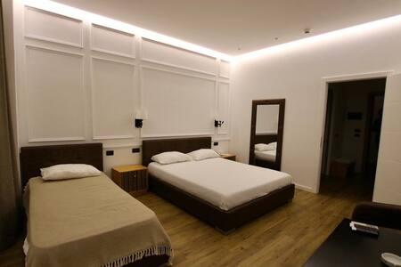 Rooms are inside Hotel Aurelis' Tirane