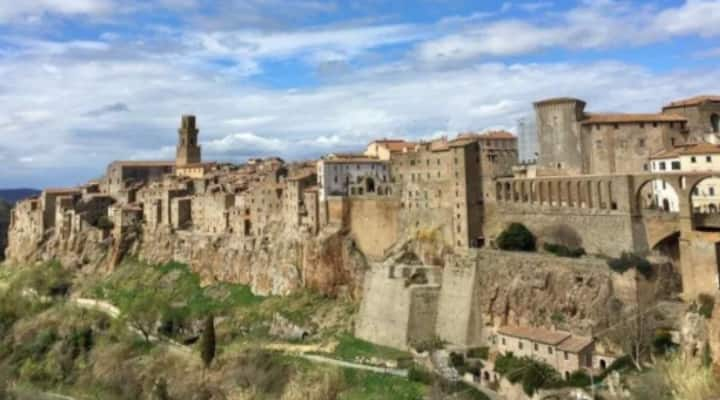 "Spacious home in ""La Piccola Gerusalemme"""