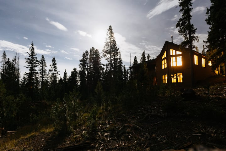 Mountain views near Breck at The Starry Sky Lodge