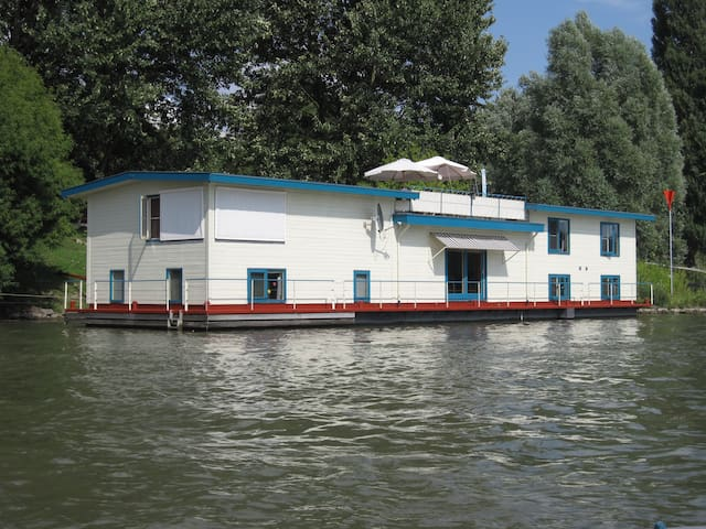 Studio 2 on  houseboat Anthonia - Arnhem - Wohnung