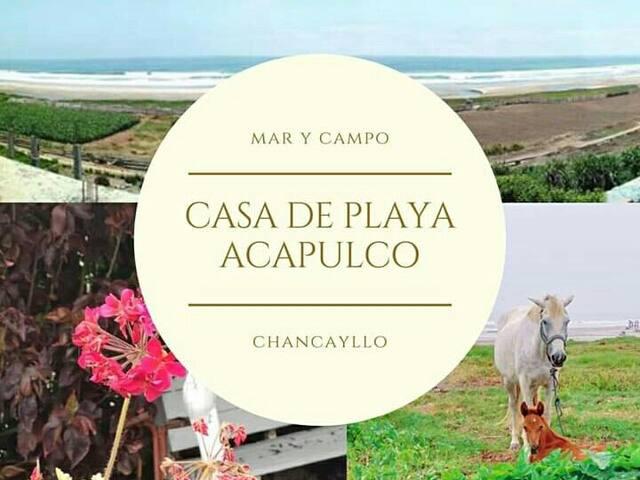 Casa de campo / Playa