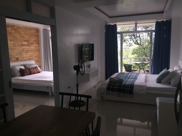 2 Bedroom overlooking Mayon Volcano (unit 103)