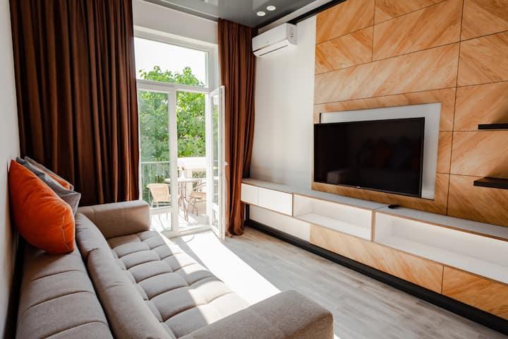 Апартаменты Стандарт с балконом 3Е