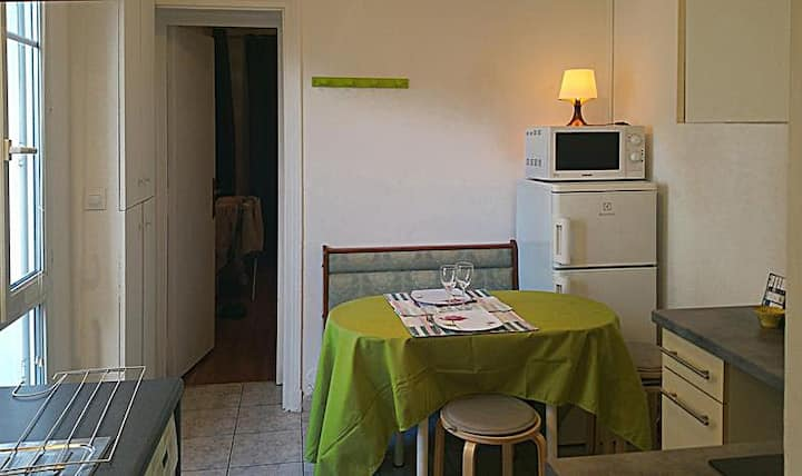 Coquet appartement T1 Paris 17ème