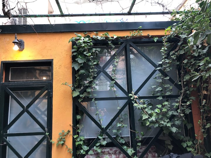The Green loft - Loft con jardín en barrio Palacio