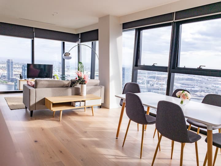 Bayview Skies 3 Bed Luxury 海港天际