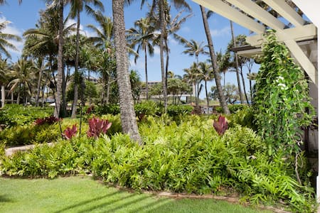 Villa 115 Beach Level 3-Bed Ocean & Pool Views - Kahuku