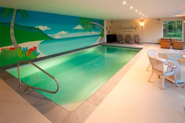 Luxe vakantievilla 't Kasteelhof - Heers - Villa