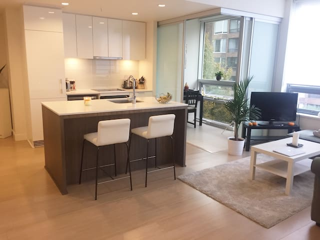Modern apartment minutes from everything downtown! - Vancouver - Lägenhet
