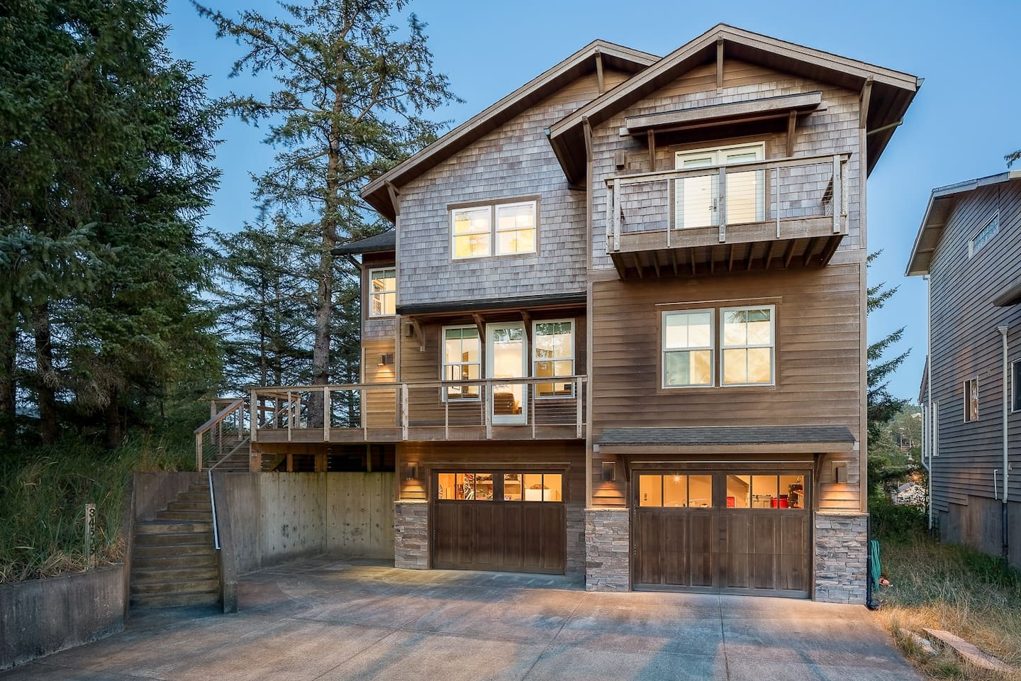 Welcome to Pacific City! This three-story home is professionally managed by TurnKey Vacation Rentals.