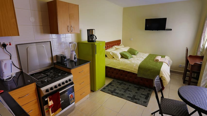 Cosy Furnished Studio Apartment in Nairobi's CBD