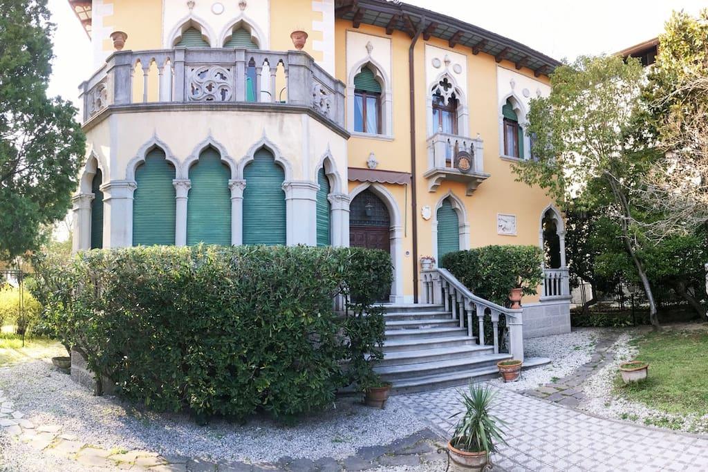 Villa Corrado - Facciata esterna