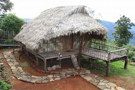 Meghalaya Kongthong Bamboo Hut Accommodation - East Khasi Hills