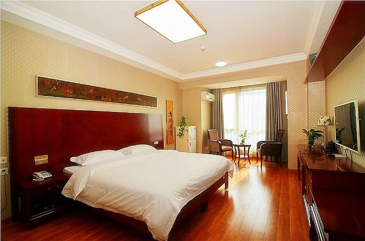 YOYO Apartment, King Size Double Bed Room (2m×2m) - Xi'an