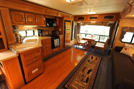 Spacious RV with private yard - Bridgeport