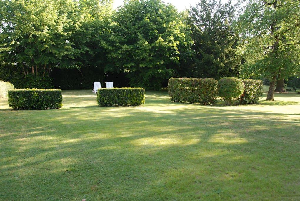 Jardin du pressoir
