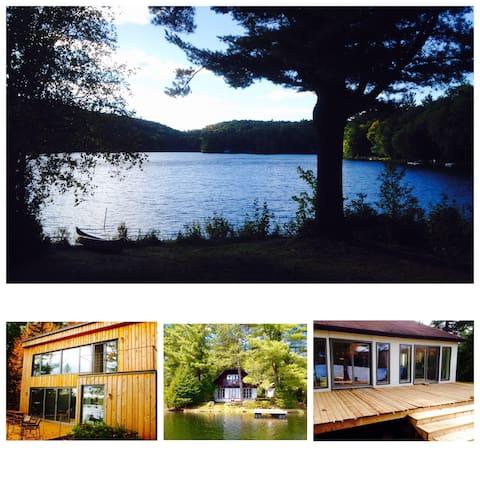 •Triple Crown• 3 Lakefront chalets - Sainte-Marcelline-de-Kildare - Bungalo