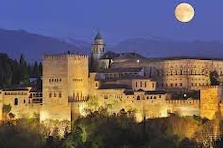 Piso amplio,luminoso y renovado en Granada capital - Granada - Bed & Breakfast