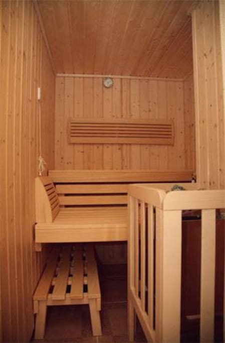 We have sauna for you