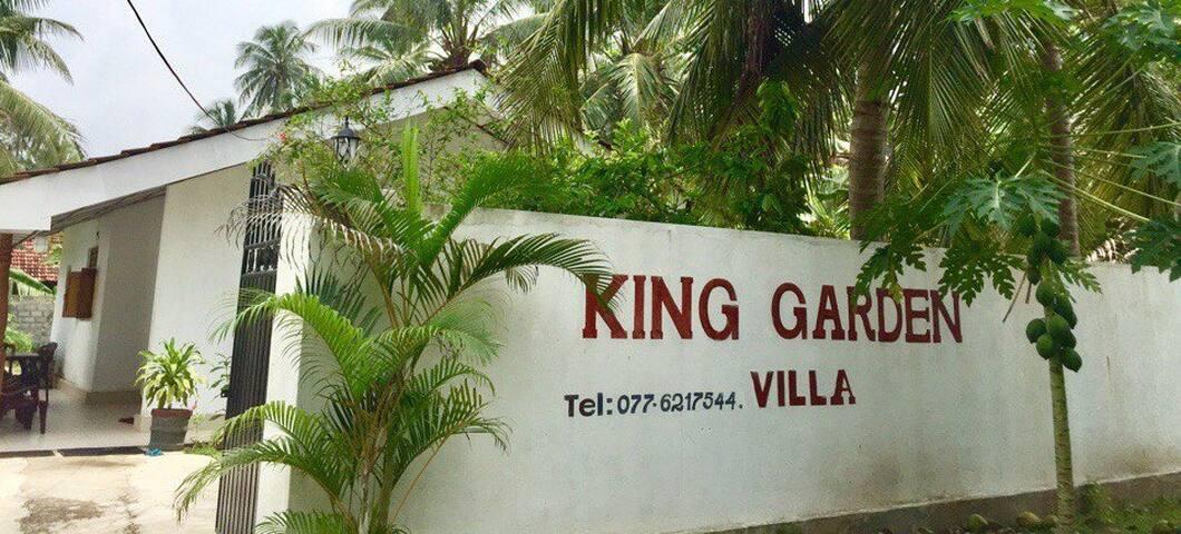 King Garden Villa in Balapitiya beach 50 meters - Balapitiya