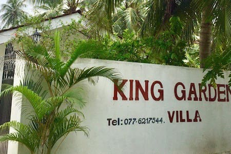 King Garden Villa in Balapitiya beach 50 meters - Balapitiya - Bed & Breakfast