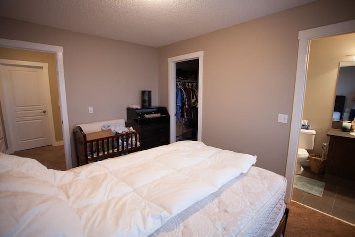 Second Bedroom with walk-in-closet