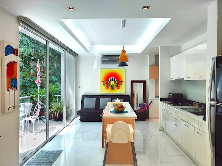 Spacious 1bd Apartment with Terrace in a Resort