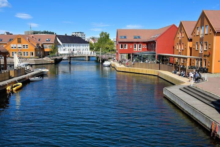 Leilighet ved sjøen i Kristiansand sentrum
