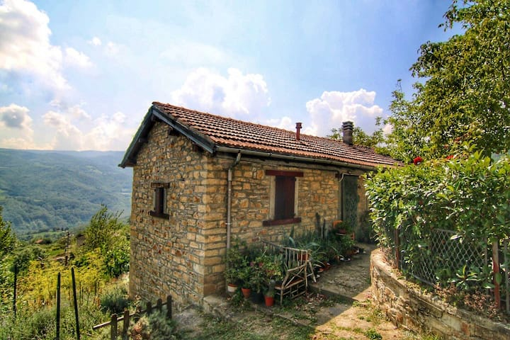 Casa Artemisa:  panoramic mountain cottage.