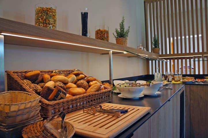 Frühstück/ HP tgl. buchbar