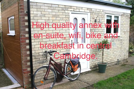 Smart annex + en-suite, bike, wifi, breakfast too! - Cambridge