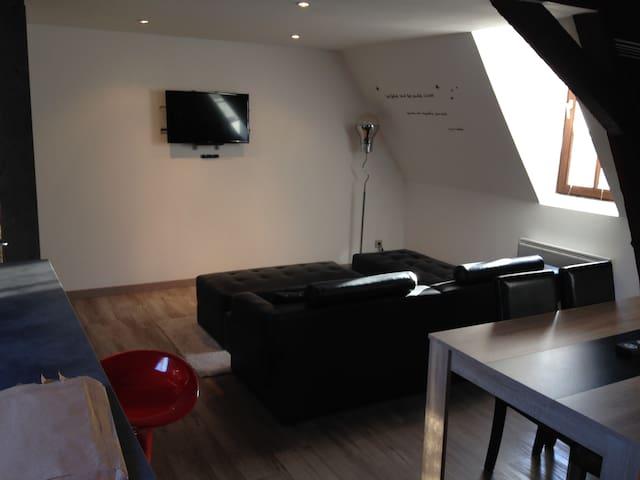 joli studio , centre de douai - Douai - Appartement
