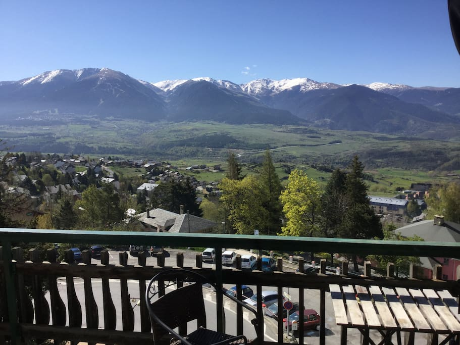 Le balcon et la vue