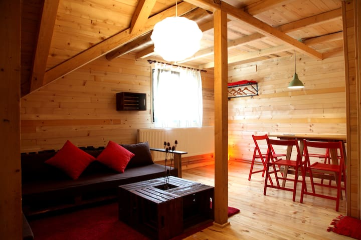 Apartment Kopren - Mountain Lodge Shoom