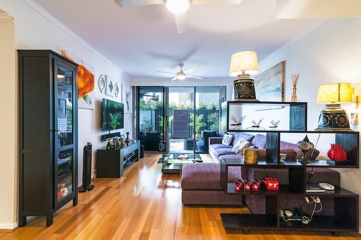Quiet Oasis on the Cusp of Surry Hills