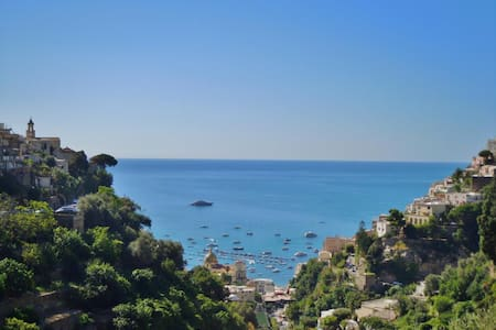 Double Room with Sea View - Positano - Bed & Breakfast