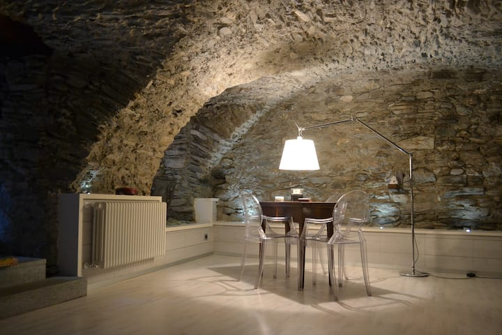 Pontechianale - Loft moderno openspace in montagna