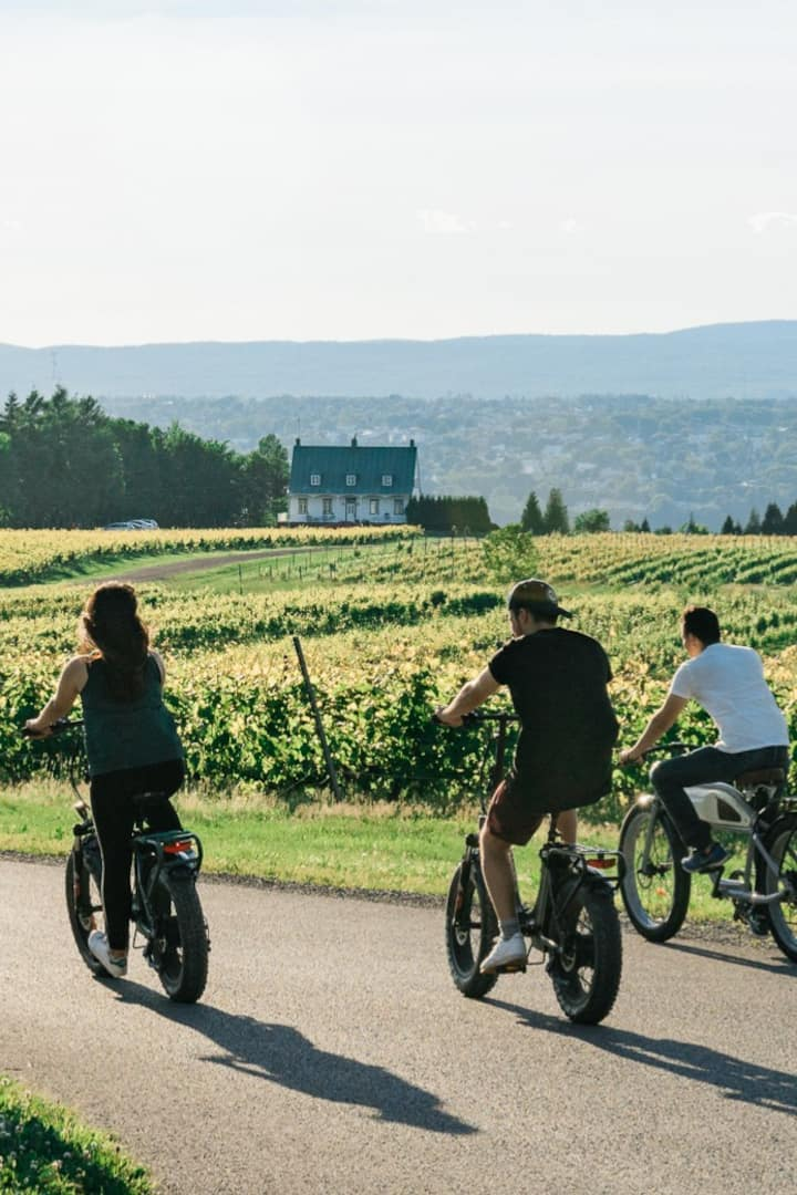 Cycle through peaceful villages