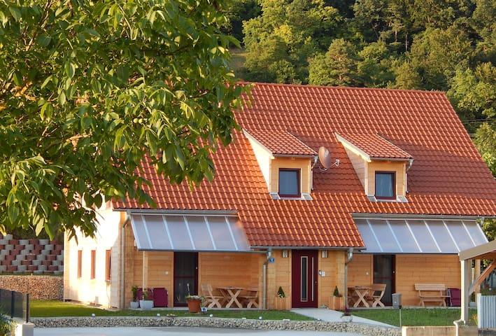 Gemütliche Ferienwohnung 70m² (DTV*****) - Kelheim - Appartement